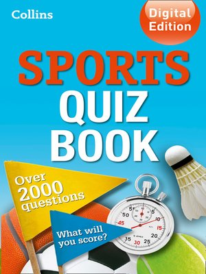 cover image of Collins Sports Quiz Book