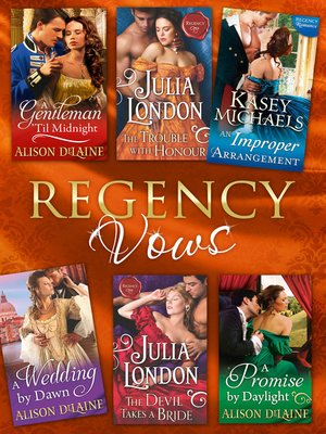 cover image of Regency Vows