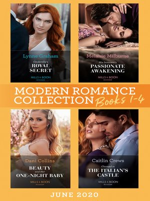 cover image of Modern Romance June 2020 Books 1-4