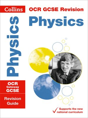 cover image of OCR Gateway GCSE 9-1 Physics Revision Guide