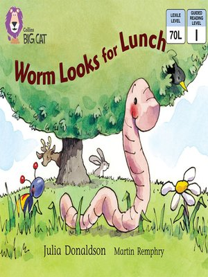 cover image of Collins Big Cat – Worm Looks for Lunch