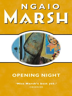 cover image of Opening Night