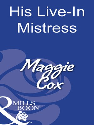 cover image of His Live-In Mistress