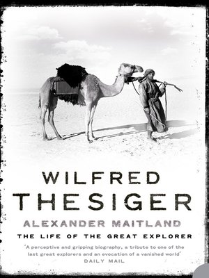 cover image of Wilfred Thesiger