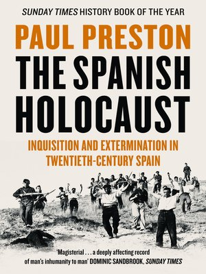 cover image of The Spanish Holocaust