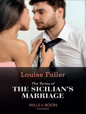 cover image of The Terms of the Sicilian's Marriage