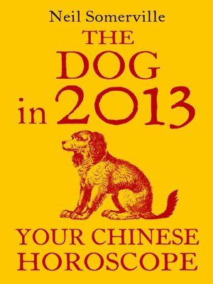 cover image of The Dog in 2013