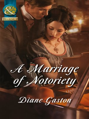 cover image of A Marriage of Notoriety