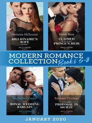 cover image of Modern Romance January 2020 Books 5-8