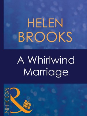 cover image of A Whirlwind Marriage