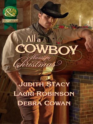 cover image of All a Cowboy Wants for Christmas