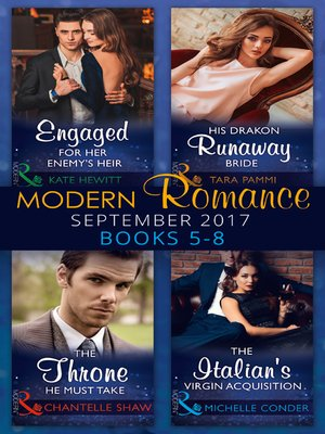 cover image of Modern Romance September 2017 Books 5--8