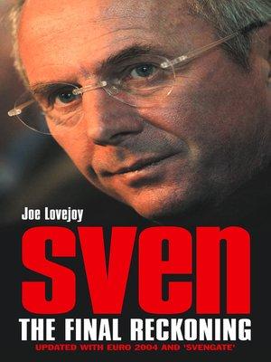 cover image of Sven-Goran Eriksson