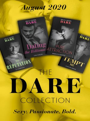 cover image of The Dare Collection August 2020