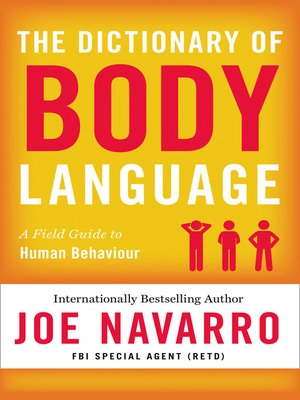 cover image of The Dictionary of Body Language