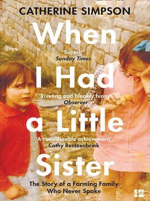 cover image of When I Had a Little Sister