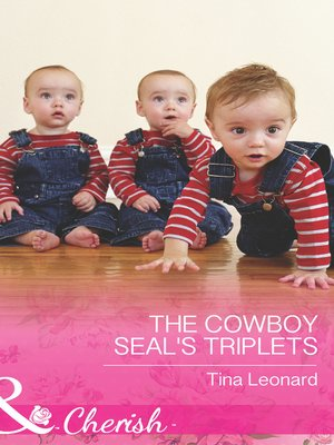 cover image of The Cowboy SEAL's Triplets