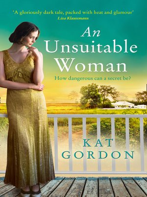 cover image of An Unsuitable Woman