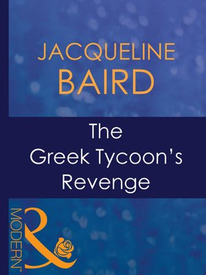 cover image of The Greek Tycoon's Revenge