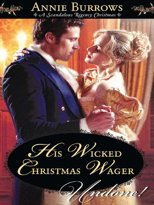 cover image of His Wicked Christmas Wager