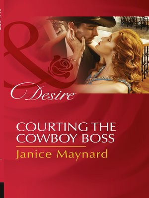 cover image of Courting the Cowboy Boss
