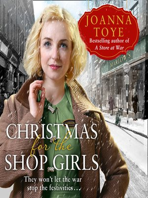 cover image of Christmas for the Shop Girls