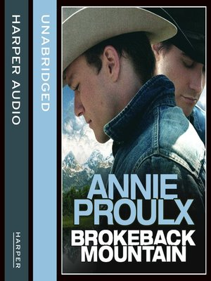 cover image of Brokeback Mountain
