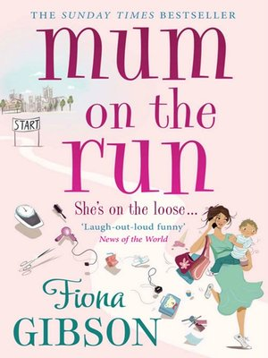 cover image of Mum On the Run