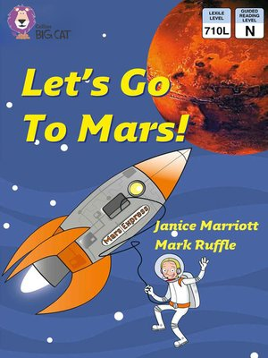 cover image of Collins Big Cat – Let's Go to Mars