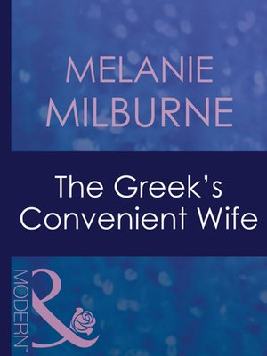 cover image of The Greek's Convenient Wife