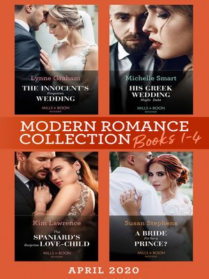 cover image of Modern Romance April 2020 Books 1-4