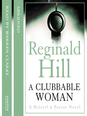 cover image of A Clubbable Woman