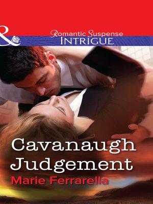 cover image of Cavanaugh Judgement