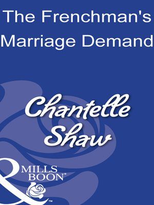 cover image of The Frenchman's Marriage Demand