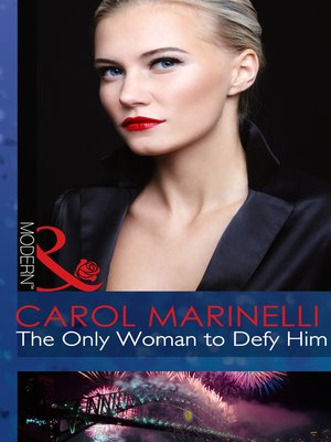 cover image of The Only Woman to Defy Him