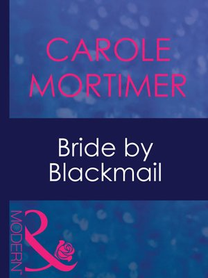 cover image of Bride by Blackmail