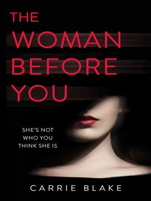 cover image of The Woman Before You