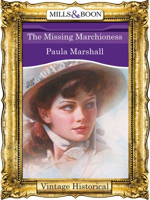 cover image of The Missing Marchioness