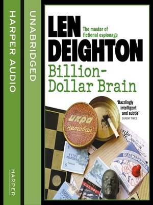 cover image of Billion-Dollar Brain