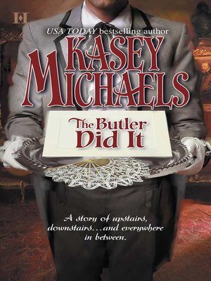 cover image of The Butler Did It