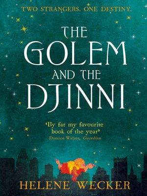 cover image of The Golem and the Djinni