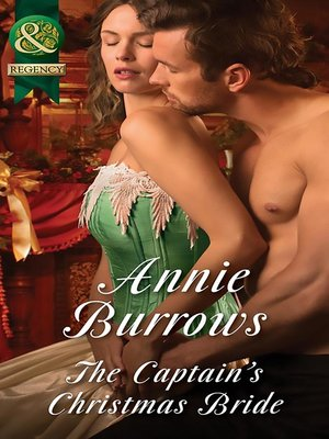 cover image of The Captain's Christmas Bride