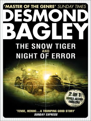cover image of The Snow Tiger / Night of Error