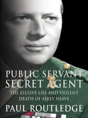 cover image of Public Servant, Secret Agent