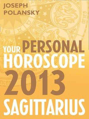 cover image of Sagittarius 2013