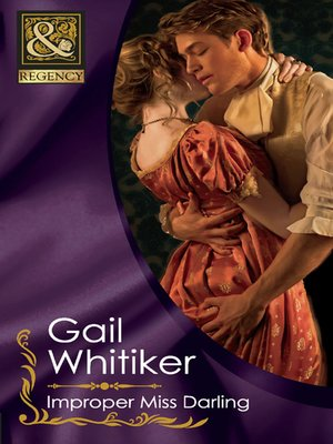 cover image of Improper Miss Darling