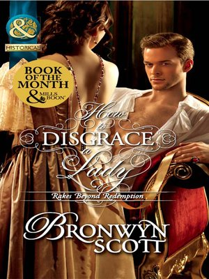 cover image of How to Disgrace a Lady