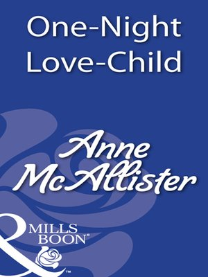 cover image of One-Night Love Child