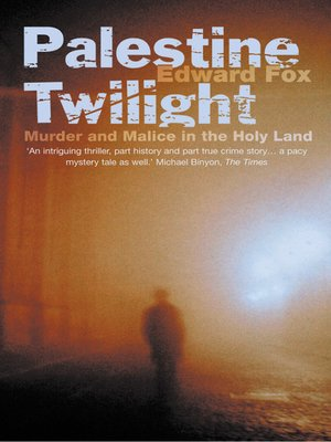 cover image of Palestine Twilight