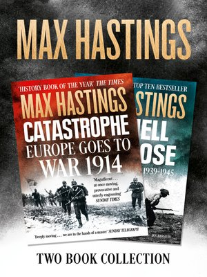 cover image of Max Hastings Two-Book Collection